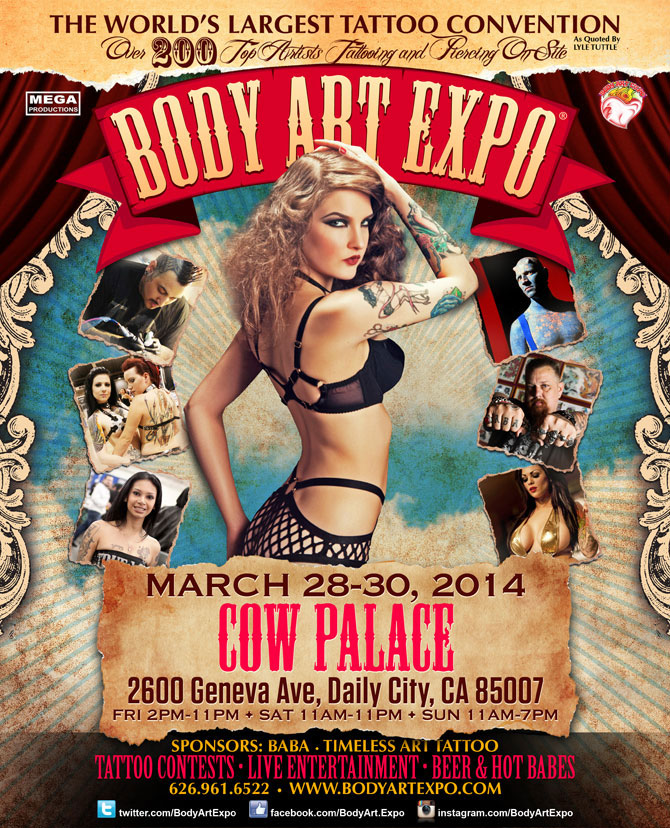 San Francisco Body Art Expo