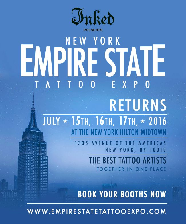 Empire State Tattoo Expo 2016